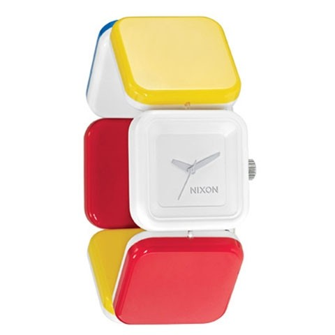 【NIXON】MISTY 【WH/RED/YE/BLU】