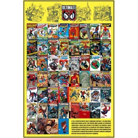 【ポスター】MARVEL COMICS Poster /Ultimate50