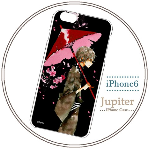 【Jupiter】【iPhone6ケース】夜桜