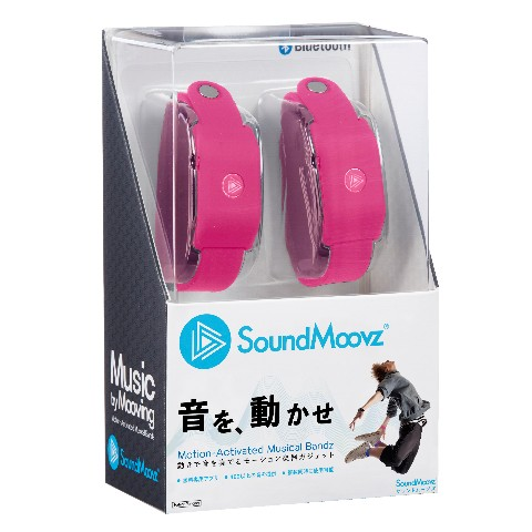 SoundMoovz ピンク<ダンス連動型ガジェット>