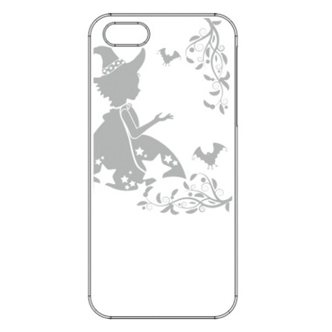 【iPhone5/5s】【アップルマークを有効活用】iPhone+ 2012MODEL /Witch