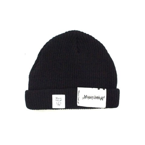 Maison book girl Knit cap mbg004 ブラック