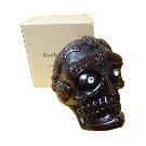 【Noche.Candle】Brown Tibetan Skull Candle