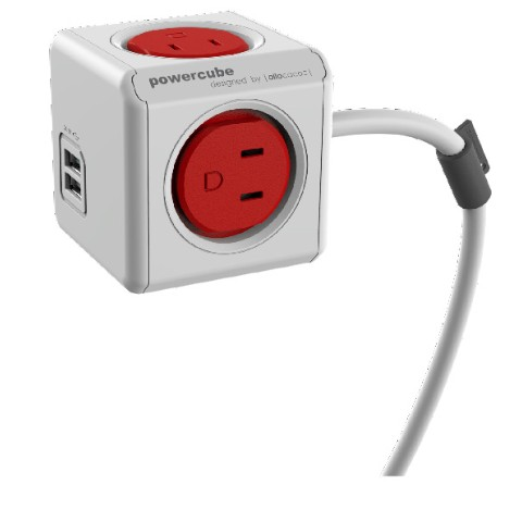 【allocaco】POWER CUBE extended USB (RED)