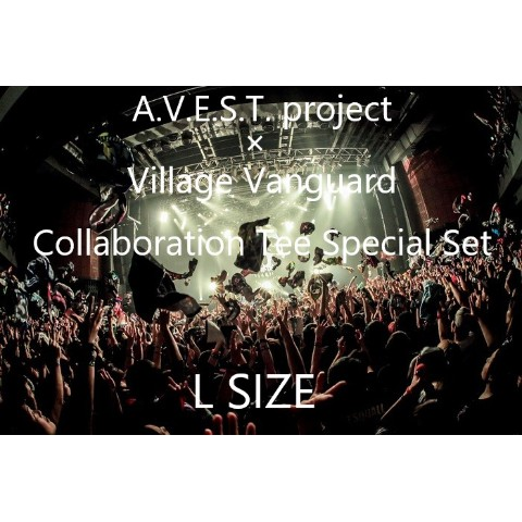 【A.V.E.S.T. project】Collaboration Tee Special Set(L size)