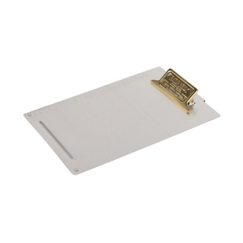 METAL CLIPBOARD B5 BRASS