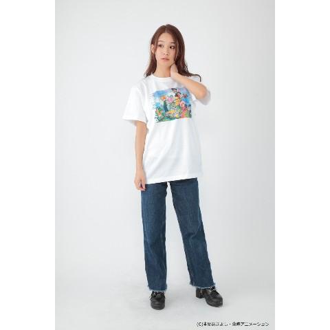 8babe9eed864 デジモンアドベンチャー】Tシャツ 白M / 雑貨通販 ヴィレッジヴァン ...