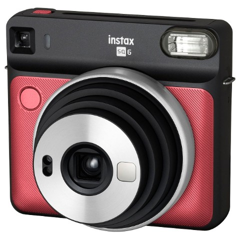 【チェキ】INSTAX SQUARE SQ6 RUBY RED