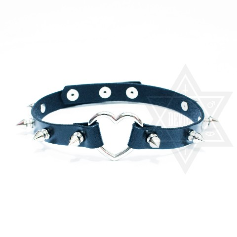 【Devilish】Sweet heart Garter(Black)(TYPE1)