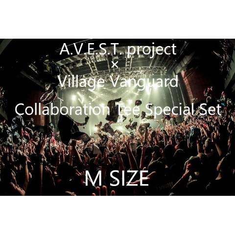 【A.V.E.S.T. project】Collaboration Tee Special Set(M size)