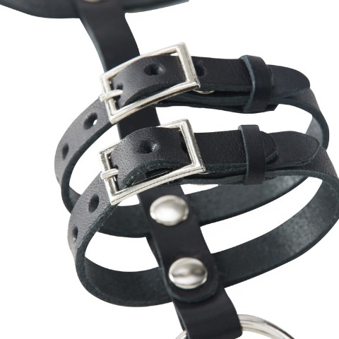 【夢月ゆーり】Leather Bracelet LONG