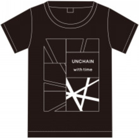 "『UNCHAIN 20th Anniv.「with time」release tour ""with you""』Tシャツ(ブラックSサイズ)"