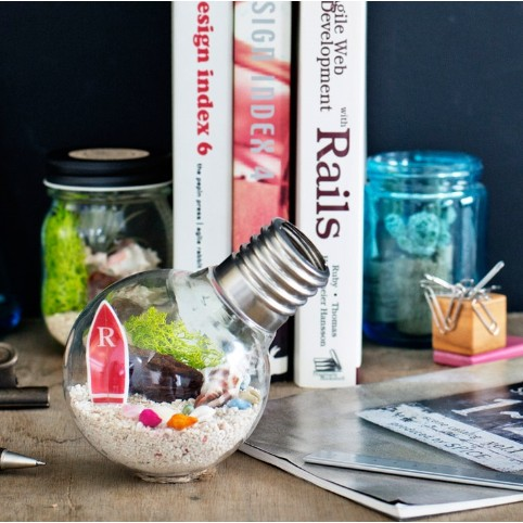 【URBAN GREEN MAKERS】 BULB TERRARIUM KIT