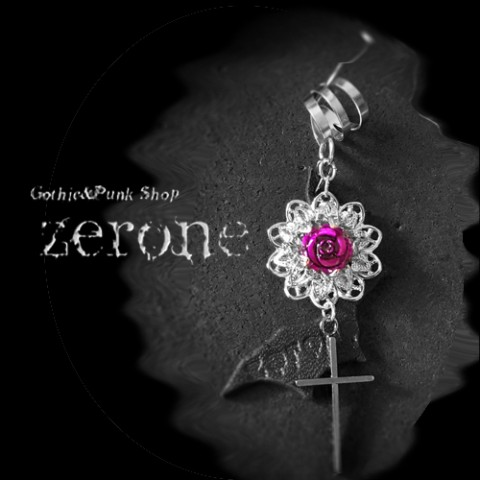 【zerone-ゼローネ-】Vamp Ear Cuff Purple
