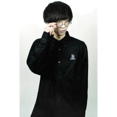 アマツカミ 弔 Long Sleeve Shirt XL