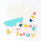 【AIUEO】cheerful letter set(FRUIT MIX)