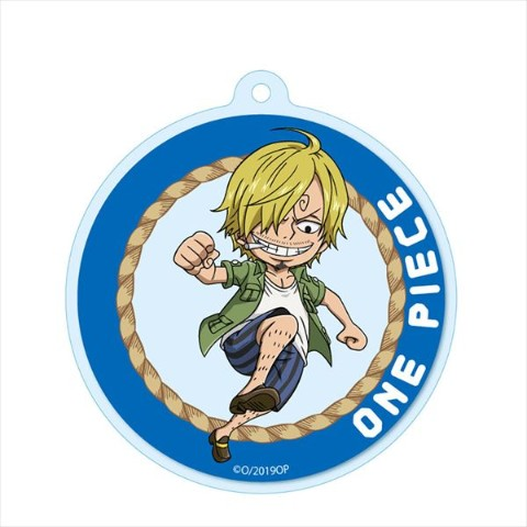 【ONE PIECE】アクリルキーチェーン(サンジ)