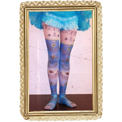 【marywest☆】mermaid jewelry tights