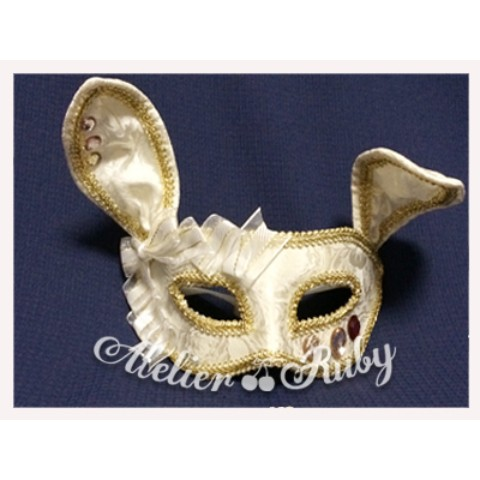 【Atelier Ruby】Mask Headdress-Rabbit/WH