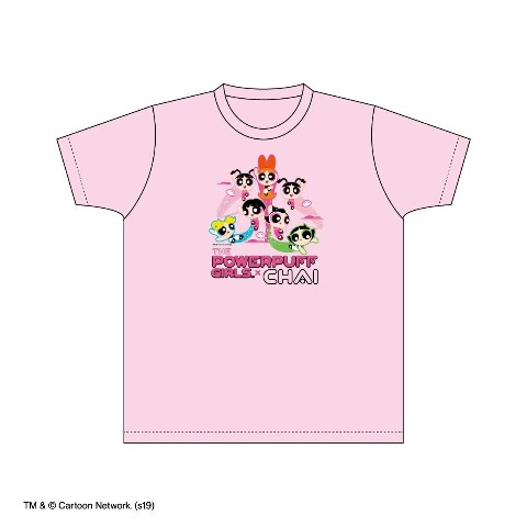 VV限定【CHAI×The Powerpuff Girls】Tシャツ ピンク(L)