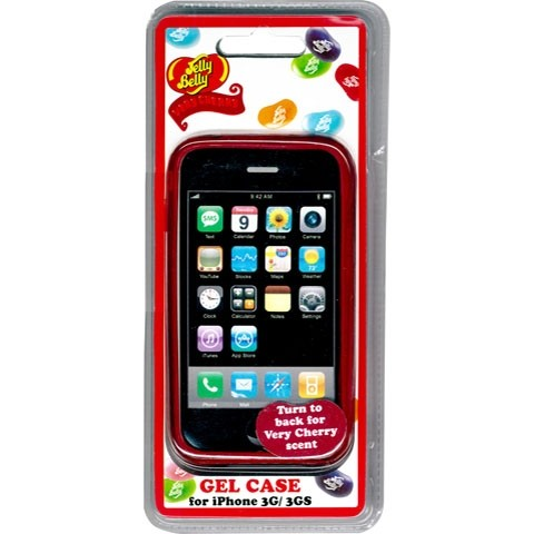Jelly Belly iPhoneケース レッド
