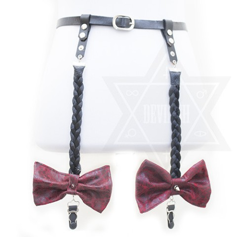 【Devilish】Hairy garter belt