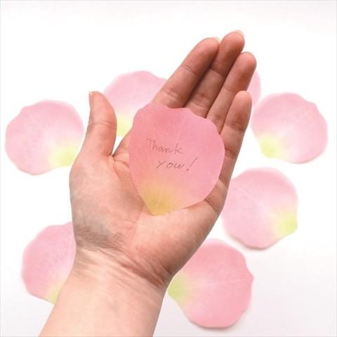 【paperable】フラワーメモ(ピンク)