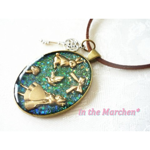 【in the Marchen*】「アリス&ワンダー」ネックレス 惑いの森