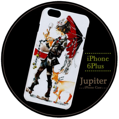 【Jupiter】【iPhone6Plusケース】チンドン屋