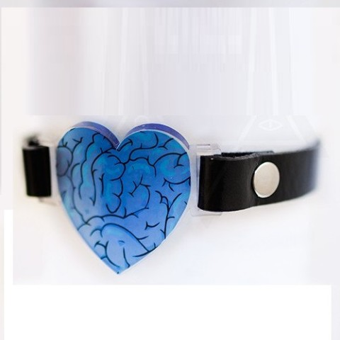 【Devilish】Love mode choker(BLUE)