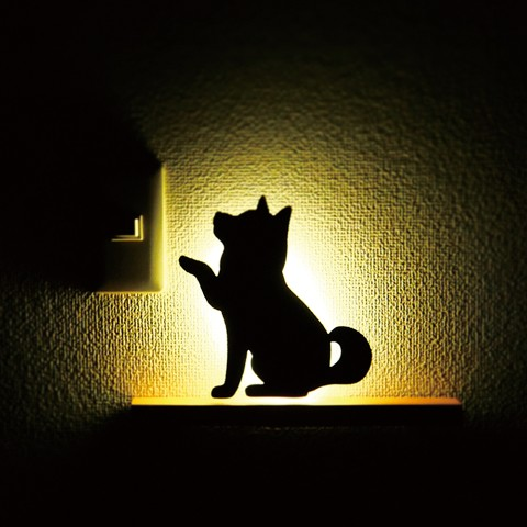 【That's Light!】SHIBA WALL LIGHTお手