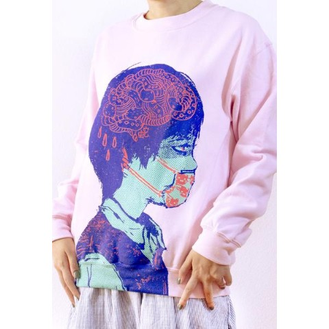【OMOCAT】SICKBOY Sweater (Lサイズ)