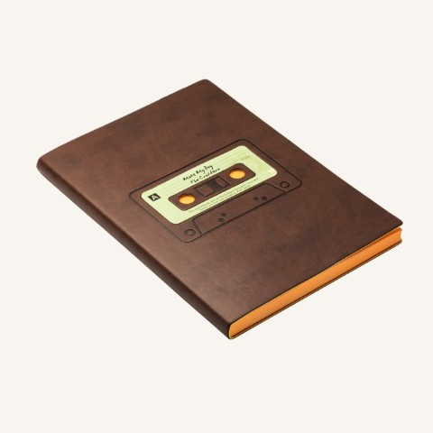 【DAYCRAFT】Retro Sketchbook(カセットテープ)