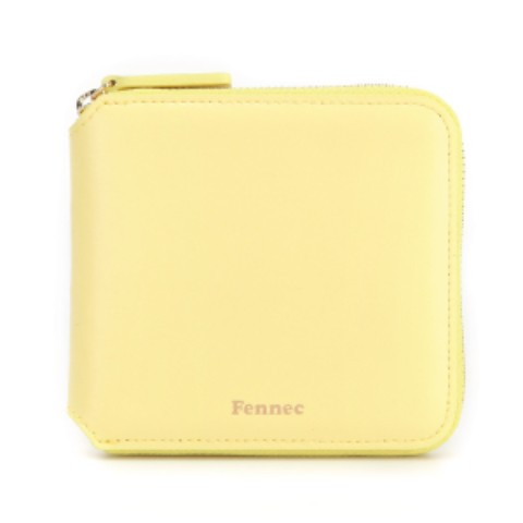 Fennec Zipper Wallet Mellow Yellow