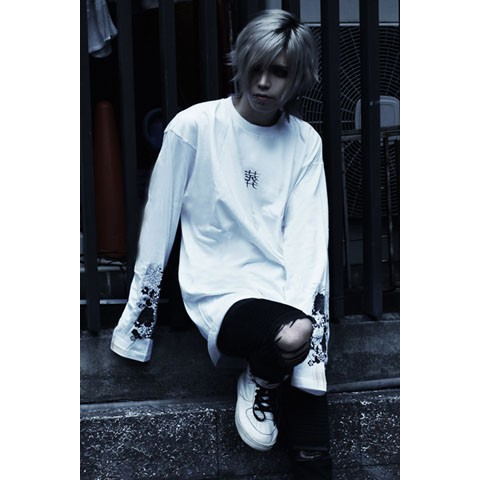 【アマツカミ】葬/Burial Long T-Shirts White XL