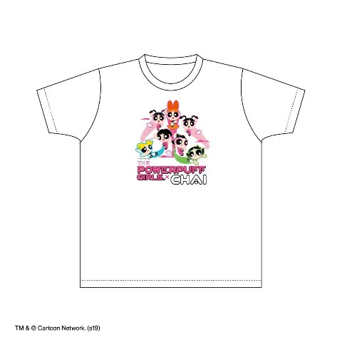 VV限定【CHAI×The Powerpuff Girls】Tシャツ ホワイト(XL)