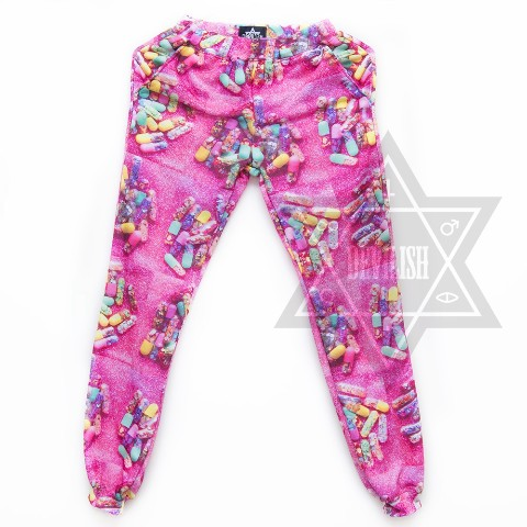 【Devilish】Happy pills Trousers/Pants