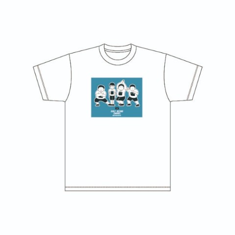 【GIRLY RECORD CHANNEL】Tシャツ(WH)Sサイズ