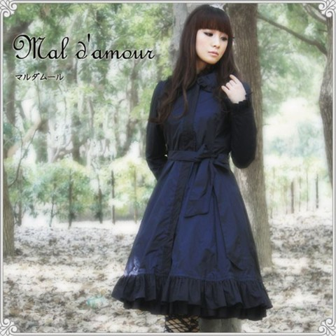 【Lumiebre】mal d'amour (black/Lサイズ)