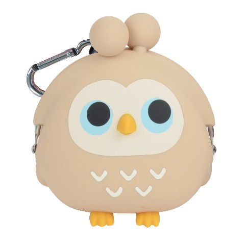 3D POCHI FRIENDS OWL(ベージュ)