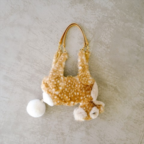 【verthandi】Ecofur DEER BAG - Small size