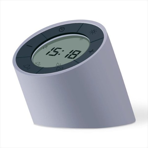 Edge Light Alarm Clock(グレー)