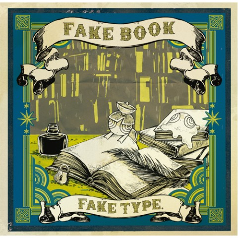 《VV限定》FAKE TYPE./FAKE BOOK