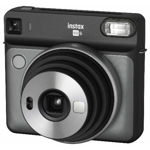 【チェキ】INSTAX SQUARE SQ6 GRAPHITE GRAY