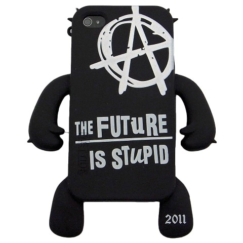 YETTIDE iPhone4 Case DESTROY,Black