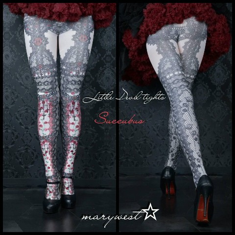 【marywest☆】Little Devil tights (Saccubus)