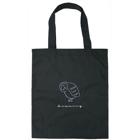 【TICKLE】COTTON TOTE BAG Knowing