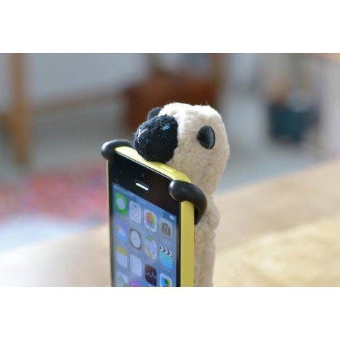 【iPhone5/5s/5c】【SHEEPY】アイボリー