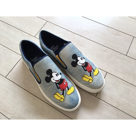 【Suger Freak 】×【Disney】DENIM FABRIC 23CM