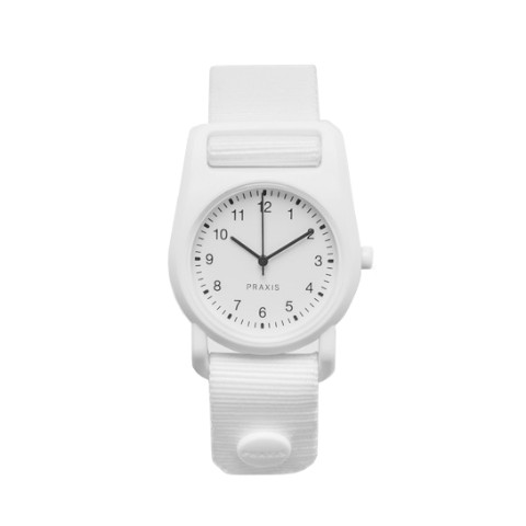 PRAXIS STRAP WATCH WHITE
